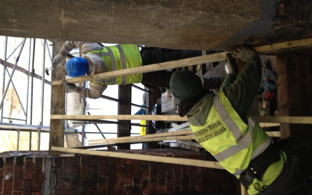 Replacing purlins/joinery work