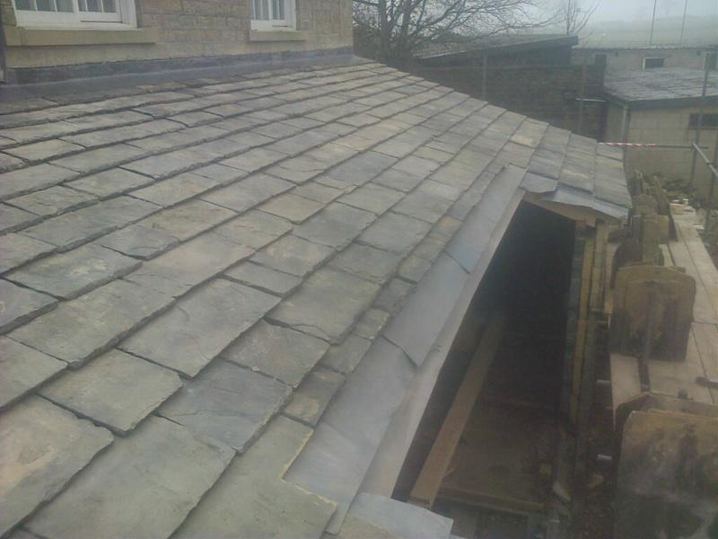 Yorkshire Stone Slate Roof