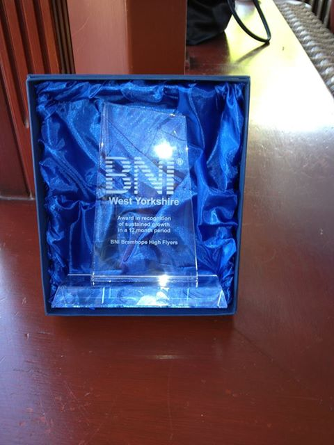 BNI High Flyers Award