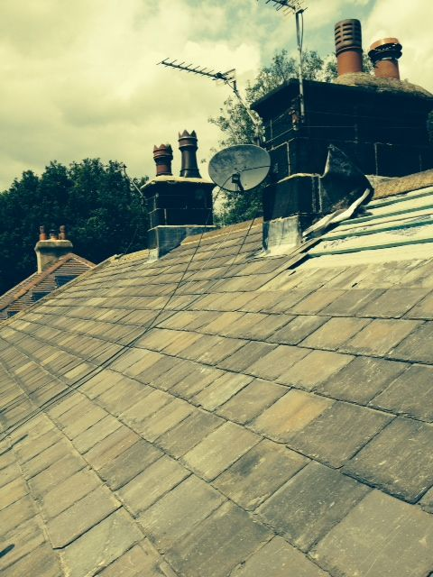 Second Hand Welsh Slate Roof