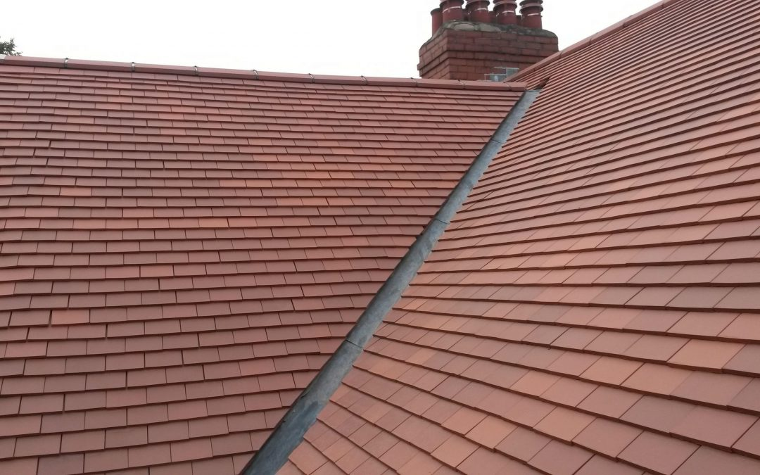 Re-roof 10.5 x 6.5 Plain Clay Tiles