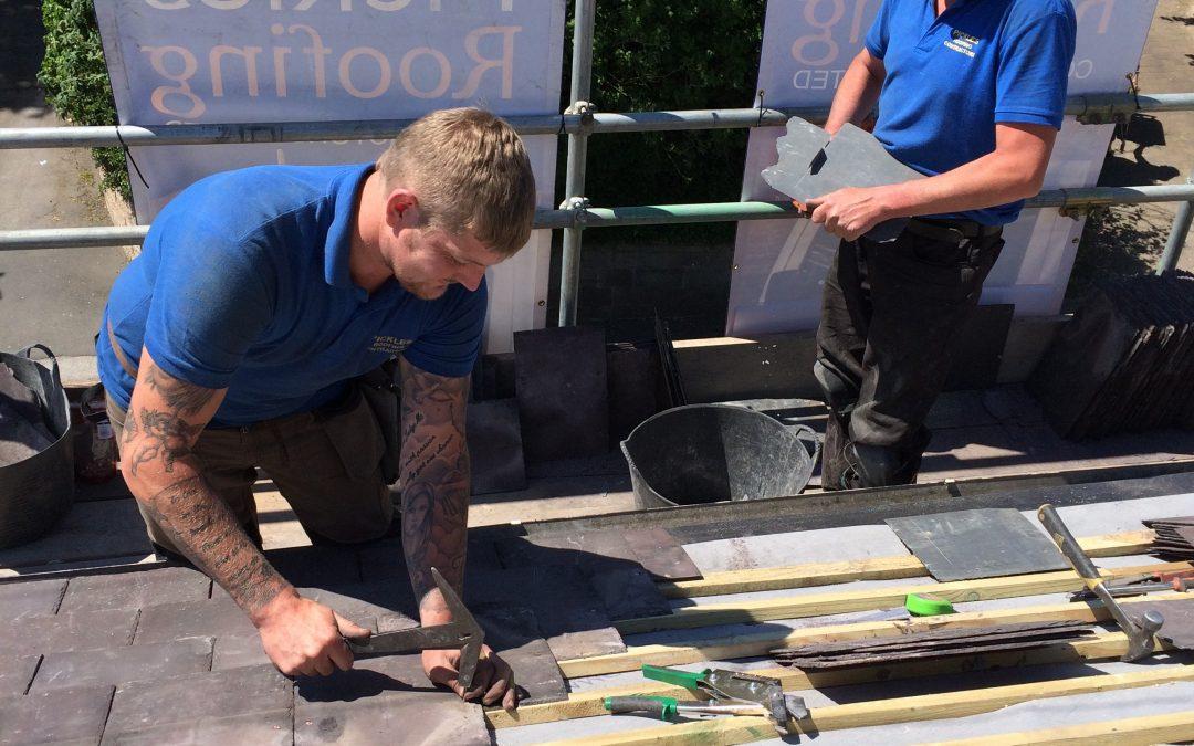 East Keswick – Craftsmen at Work