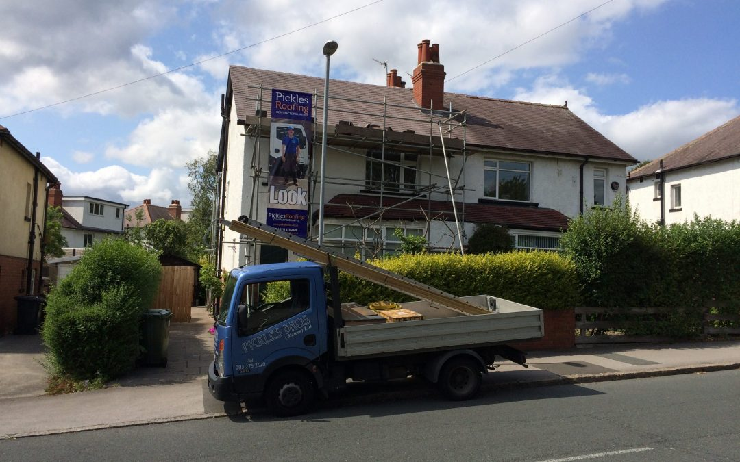 Re-roof with Insulation and new alloy gutter in Meanwood