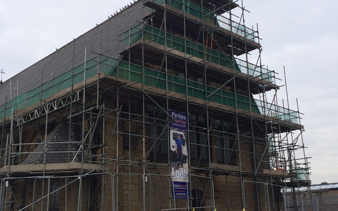 Commencement of Refurbishment works to Church