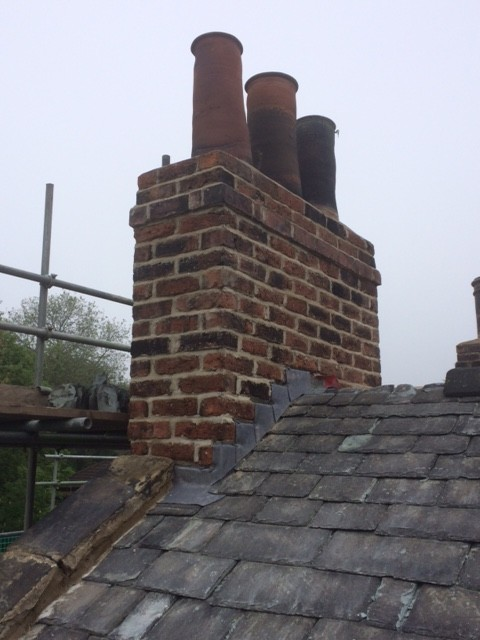 Chimney Works to 18th Century Property in Leeds 7
