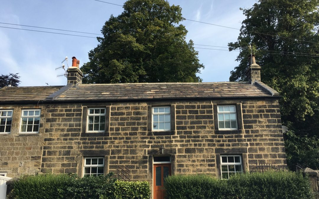 Re-roof in Stone slate