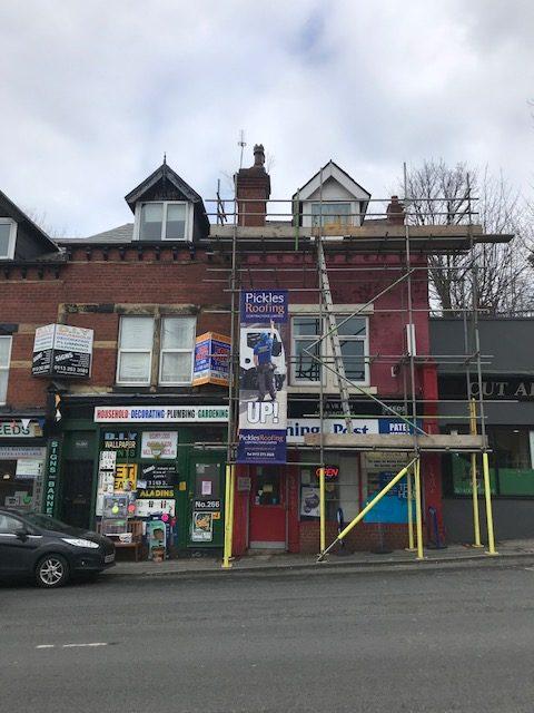 Re-roof in Leeds 4