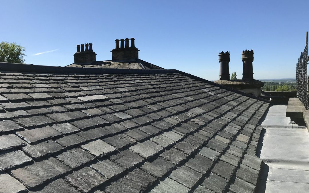Re-roof of property in Leeds 8