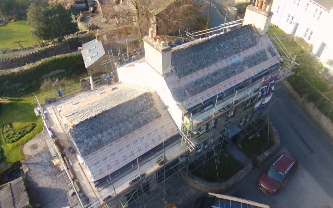 Giggleswick – Stripped, laths and insulation