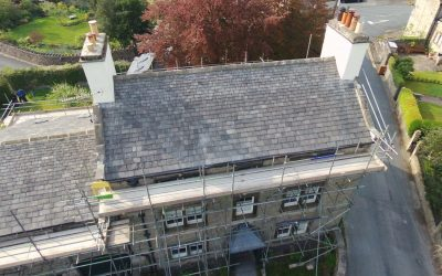 Completed Re-roof at Giggleswick