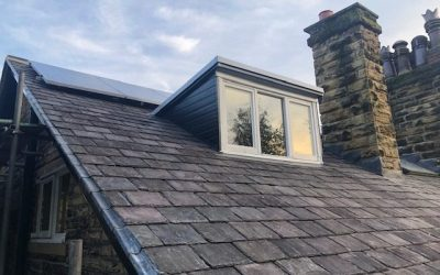 Re-roofing project in Leeds