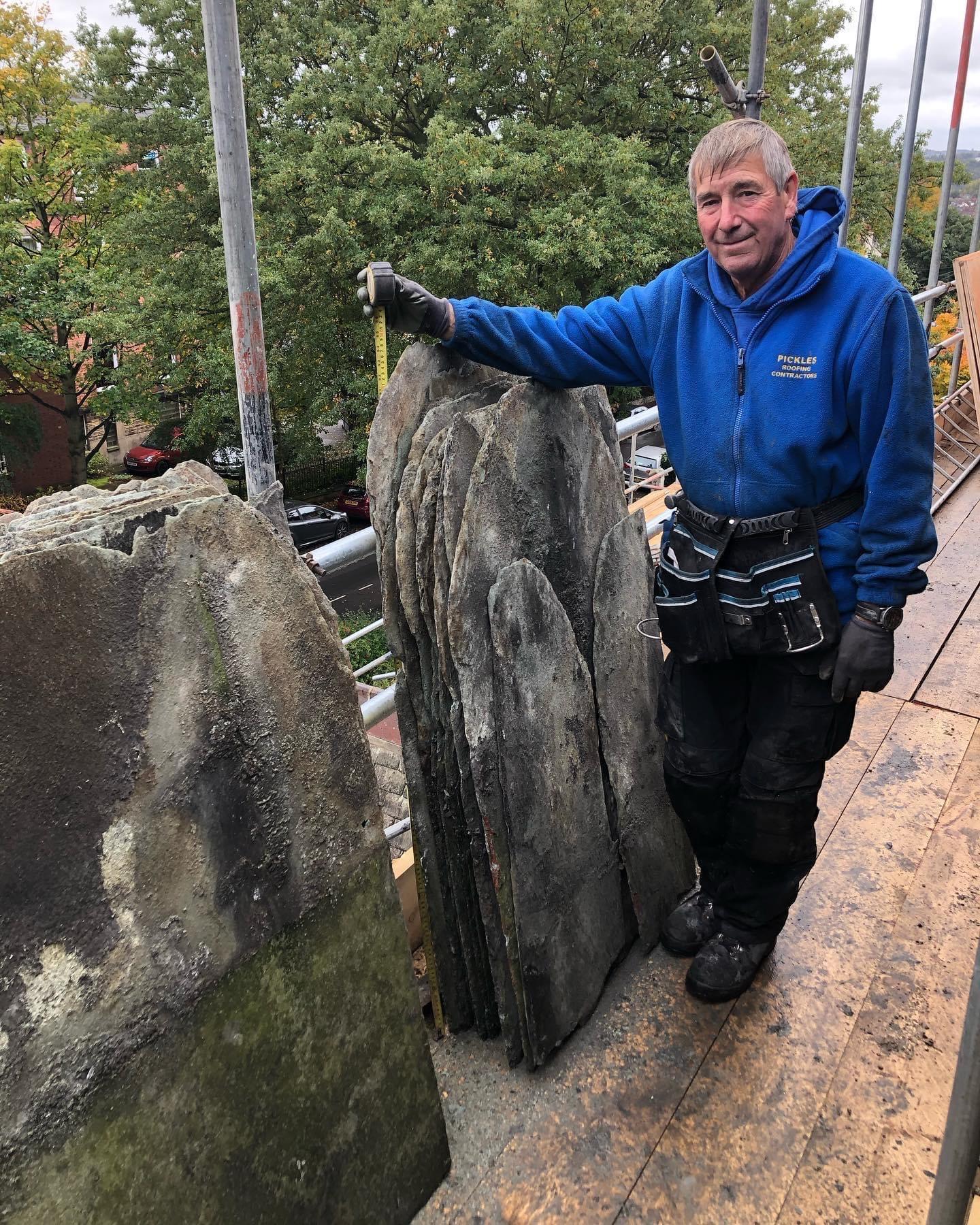 54 inch Green Westmorland Slates 1