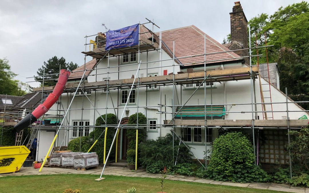 Re-roof in Leeds 16 almost complete