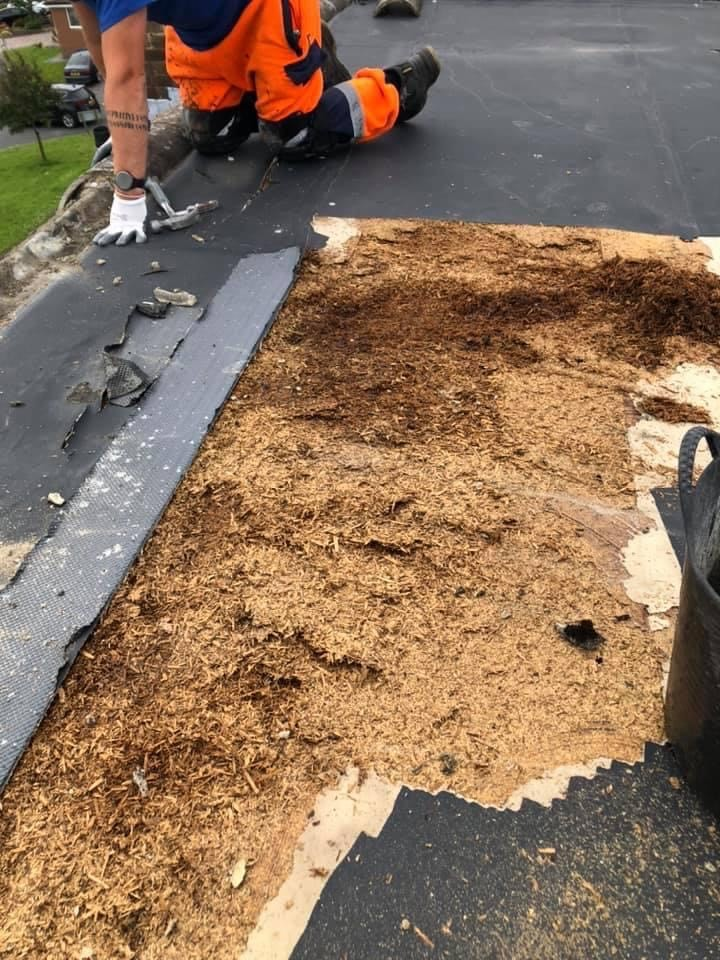 Flat Roof Replacement 1